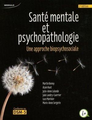Santé mentale et psychopathologie - puf - 9782897320416 -