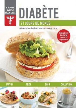 Diabète - 21 jours de menus - modus vivendi - 9782897761165 -