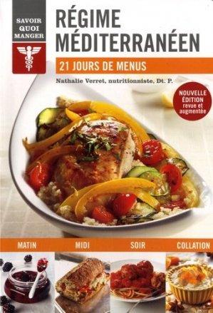 Savoir quoi manger régime méditerranéen - Modus Vivendi - 9782897761547 -