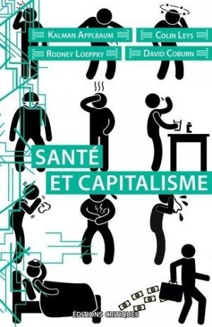 Santé et capitalisme - Critiques Editions - 9791097331269 -