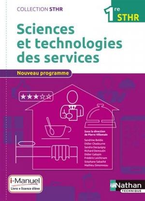 Sciences et technologies des services 1re STHR-nathan-9782091640419