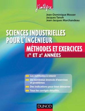 Sciences industrielles pour l'ingénieur - dunod - 9782100559800 -