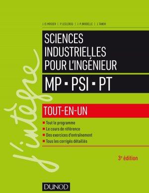 Sciences industrielles pour l'ingénieur MP, PSI, PT - dunod - 9782100793945 -