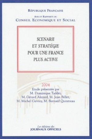 Scenarii et stratégie pour une France plus active - La Documentation Française - 9782111206380 -