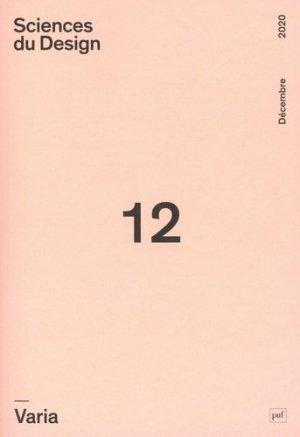 Sciences du Design 2020 - puf - presses universitaires de france - 9782130823759 -