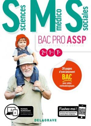 Sciences Médico-Sociales 2de, 1re, Tle Bac Pro ASSP 2019 - delagrave - 9782206103433 -