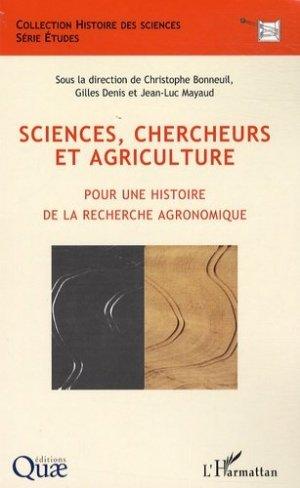 Sciences, chercheurs et agriculture - L'Harmattan - 9782296073937 -