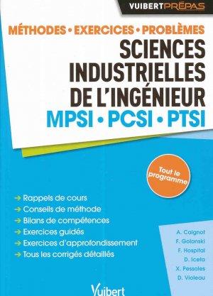 Sciences industrielles de l'ingénieur MPSI PCSI PTSI - vuibert - 9782311402186 -