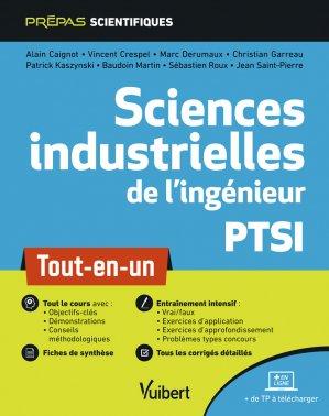 Sciences industrielles de l'ingénieur PTSI - Vuibert - 9782311406313 -