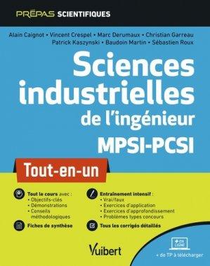 Sciences industrielles de l'ingénieur MPSI-PCSI - vuibert - 9782311406764 -