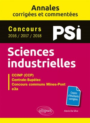Sciences industrielles PSI - ellipses - 9782340029699 -