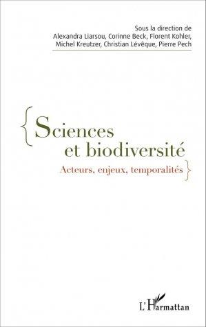 Sciences et biodiversité - l'harmattan - 9782343076751 -