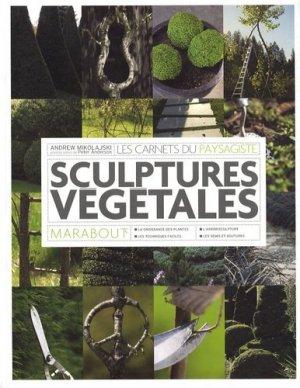 Topiaires et sculptures végétales - Marabout - 9782501054744 -