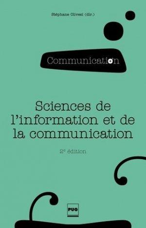 Sciences de l'information et de la communication - presses universitaires de grenoble-pug - 9782706118197 -