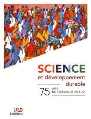 Science et développement durable - ird - 9782709927376 -