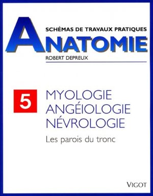 Schémas de travaux pratiques anatomie 5 - vigot - 9782711406739 -