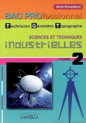 Sciences et techniques industrielles Bac Pro Technicien Géomètre Topographe - casteilla - 9782713529399 -