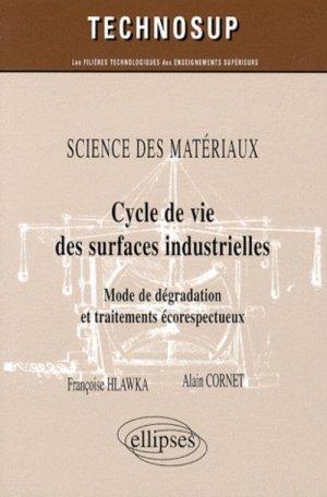 Cycle de vie des surfaces industrielles - ellipses - 9782729841461 -