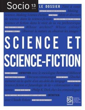 Science et science-fiction - Maison des Sciences de l'Homme - 9782735125272 -
