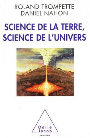 Science de la Terre, science de l'Univers - odile jacob - 9782738126726 -