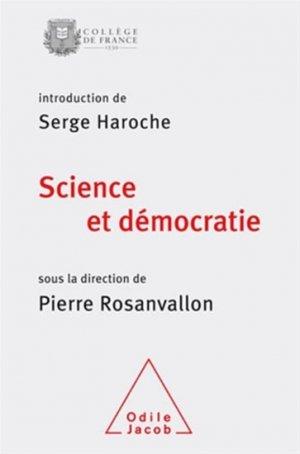 Science et démocratie - odile jacob - 9782738131584 -
