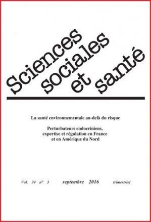 Sciences Sociales et Santé n°3 - john libbey eurotext - 9782742014699 -