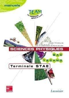 Sciences physiques Terminale STAE - lavoisier / tec et doc - 9782743006976 -