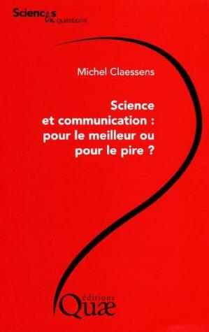 Science et communication - quae  - 9782759203673 -