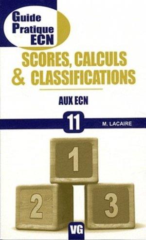 Scores, calculs & classifications aux ECN - vernazobres grego - 9782818302842 -