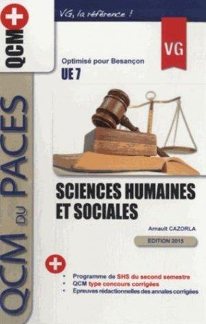 Sciences humaines et sociales UE7 - vernazobres grego - 9782818313268 -