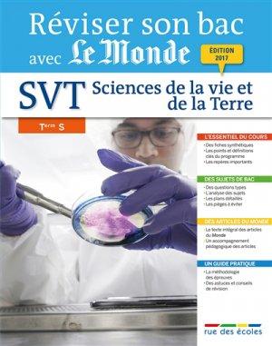 Sciences de la vie et de la terre Tle S - rue des ecoles - 9782820806017 -