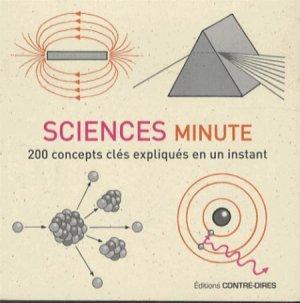 Sciences minute - contre dires - 9782849332986 -
