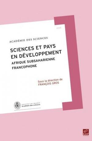 Science et pays en développement - EDP Sciences - 9782868838193 -