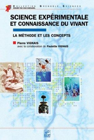 Science expérimentale et connaissance du vivant - EDP Sciences - 9782868838971 -