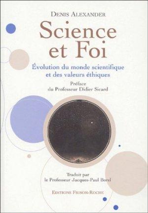 Science et foi - Editions Frison-Roche - 9782876714533 -