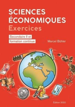 Sciences économiques : exercices - ppur -  presses polytechniques et universitaires romandes - 9782889153541 -