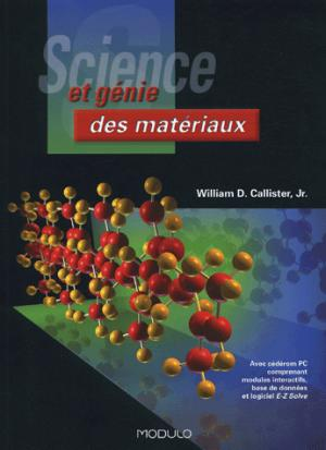 Science et génie des matériaux - modulo (canada) - 9782891136877 -