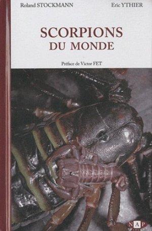 Scorpions du monde - nap - 9782913688100 -