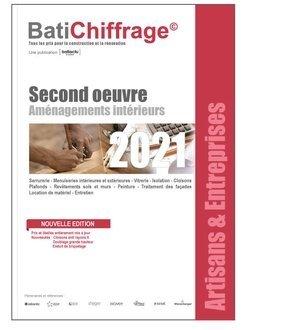 Second oeuvre - aménagements intérieurs 2021 - batichiffrage - 2226190965648 -