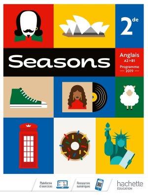 Seasons 2nde - Livre Élève - Ed. 2019 - hachette - 9782013235983 -