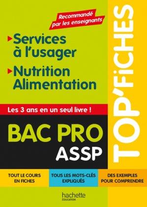 Services à l'usager, Nutrition-Alimentation - hachette - 9782013950992 -