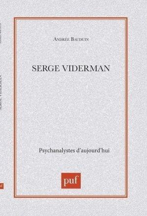 Serge Viderman - puf - presses universitaires de france - 9782130502142 -