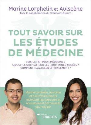 Tout savoir sur les études de médecine - eyrolles - 9782212574180 -