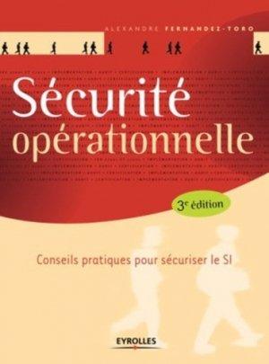 Sécurité opérationnelle - eyrolles - 9782212675535 -