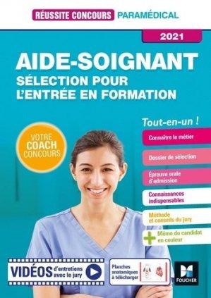 Sélection pour entrer en Formation Aide-soignant - IFAS - Foucher - 9782216158300 -