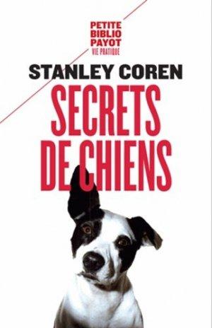 Secret de chien - payot - 9782228913386 -