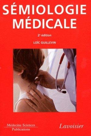 Sémiologie médicale - lavoisier msp - 9782257204691 -