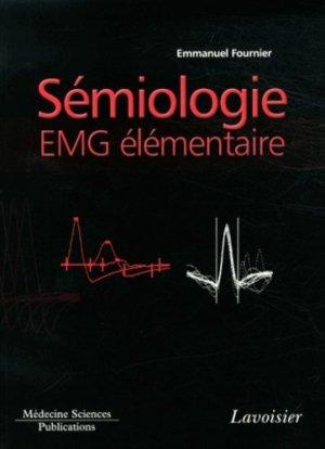 Sémiologie EMG élémentaire - lavoisier msp - 9782257205599 -