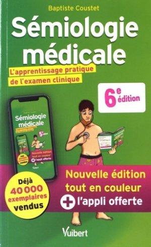 Sémiologie médicale - vuibert - 9782311660890