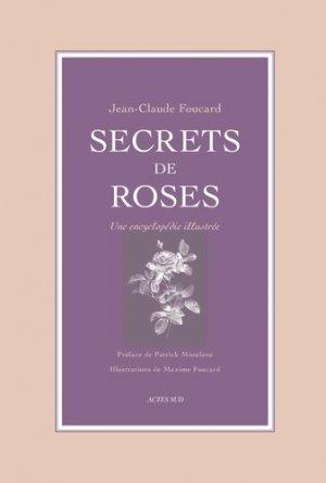 Secrets de roses - actes sud  - 9782330147044 -